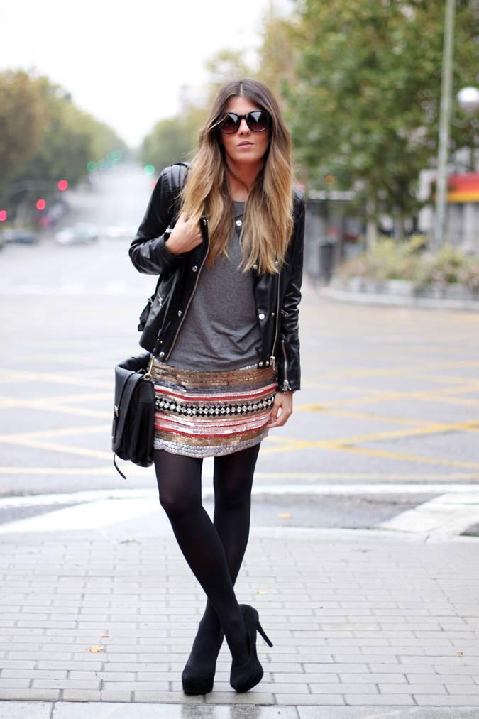 Looks diarios de bloggers y demás chicas que cuelgan en internet. - Página 16 Sequined-skirt-perfecto-street-style-1