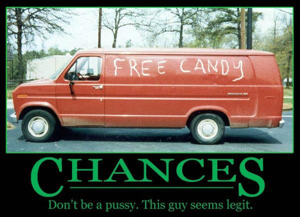 Caution: Laughter ahead Chances