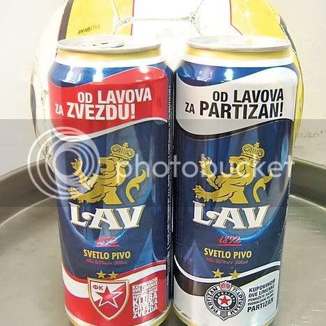 Od Lavova za Crvenu Zvezdu i Partizan pivo Pivo-4