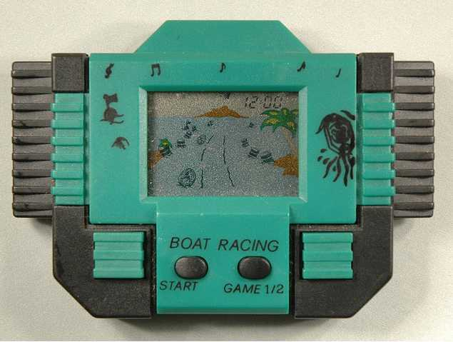cercando giochi portatili degli anni 80 e 90 Boatracing