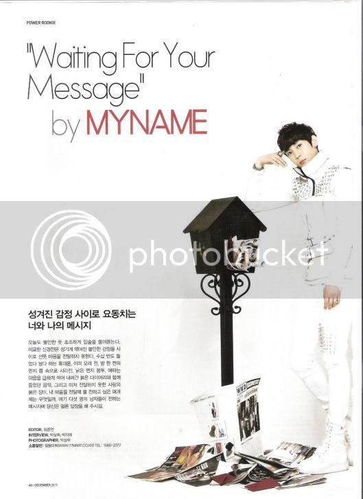 [SCANS] Inkigayo Magazine Diciembre 11 0011