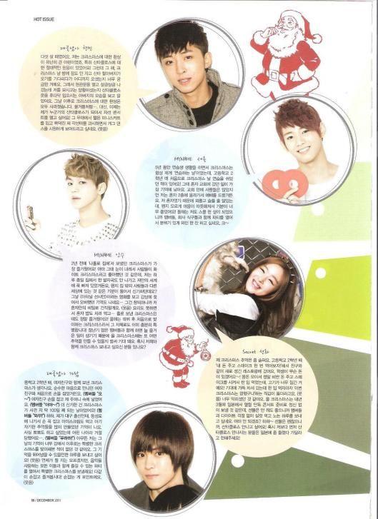 [SCANS] Inkigayo Magazine Diciembre 11 011