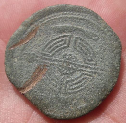 Dupondio de Lucus Augusti (r: caetra). Guerras Astur-Cántabras 0586ae10-6138-43c2-ae73-da1de0854b49
