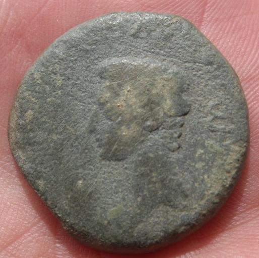 Dupondio de Lucus Augusti (r: caetra). Guerras Astur-Cántabras 559d3f44-4cfd-4a73-b8f4-743e0b024f0e