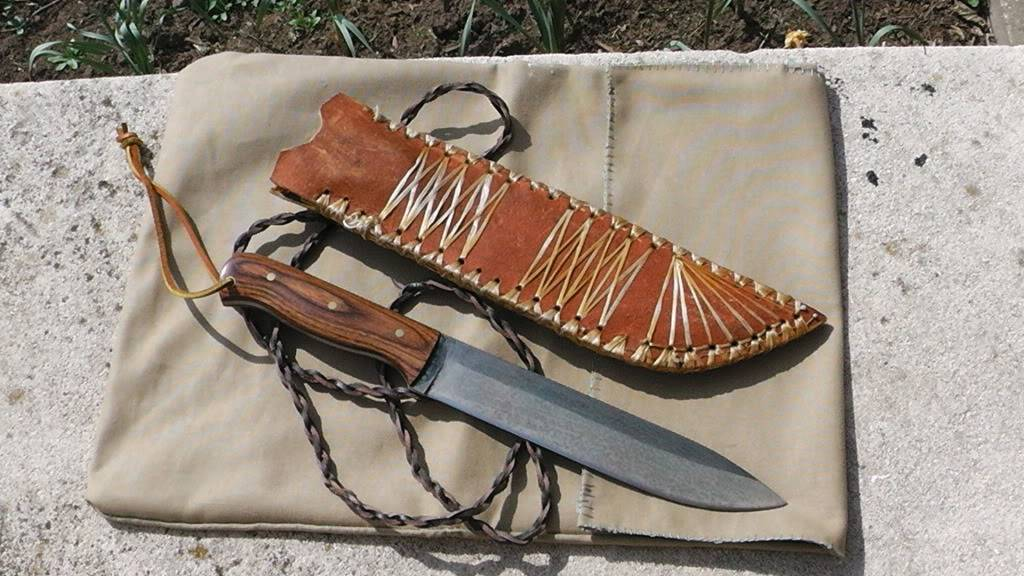 Thinning the Knife Herd part 1- Sugar Creek Modern Hudson Bay  One of a kind from the bench of Mike McConnel  $200.00 Shipped S1030008