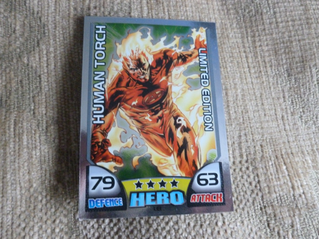 FT - Hero Attax LE1 Limited for Force Attax Limiteds 026