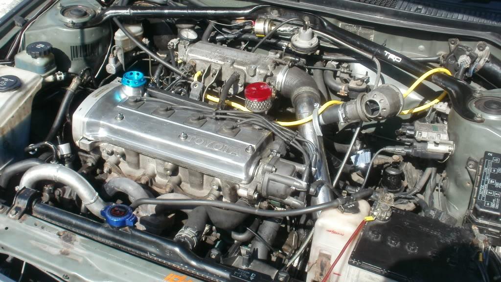 ★ 1993 Toyota Corolla 花冠 ターボ Saloon ★  P4090021