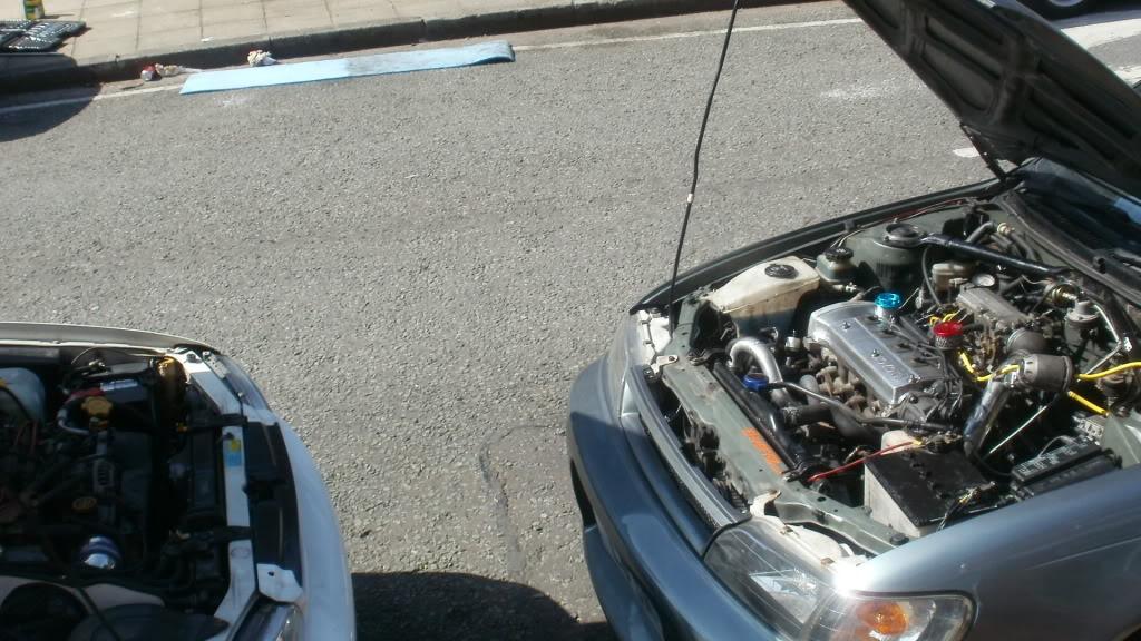 ★ 1993 Toyota Corolla 花冠 ターボ Saloon ★  P4090022