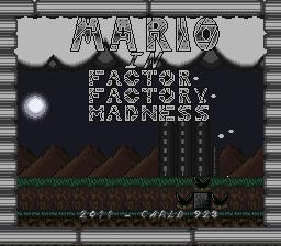 Mario in Factory Factor Madness Ffm_00000