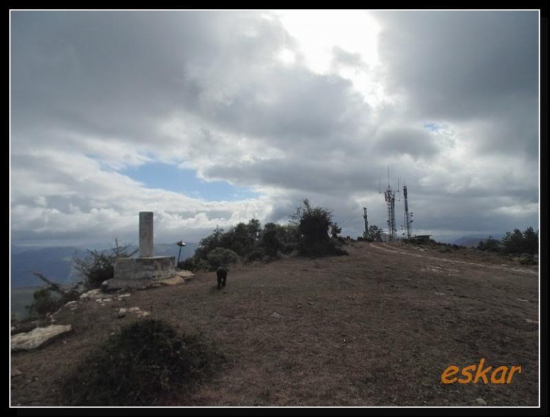 MONTENEGRO 692 MTS desde santa coloma (ARTZINIEGA) M18
