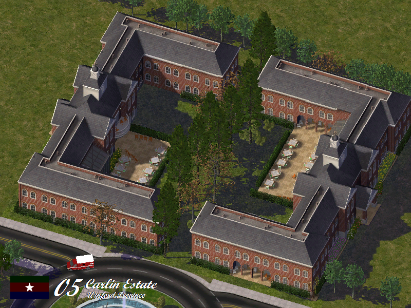 18th ISC Session Bid| Carlin Estate, North Winford, Calma Courtyard