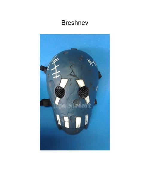 Tupa Mask Breshnev