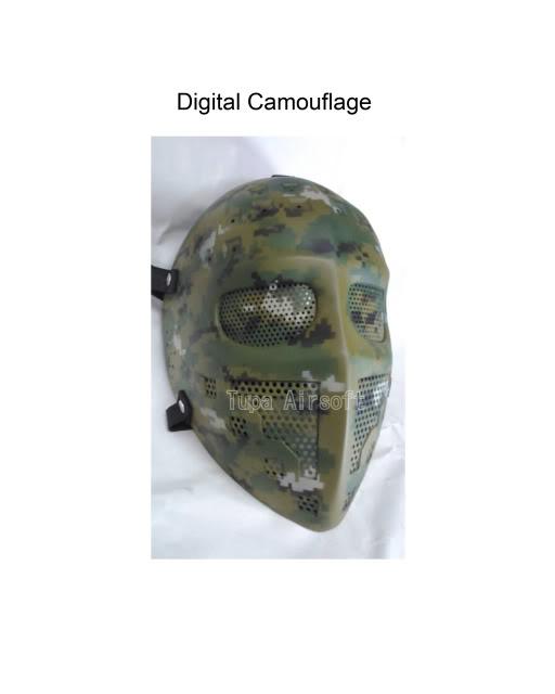 Tupa Mask DigitalCamouflage