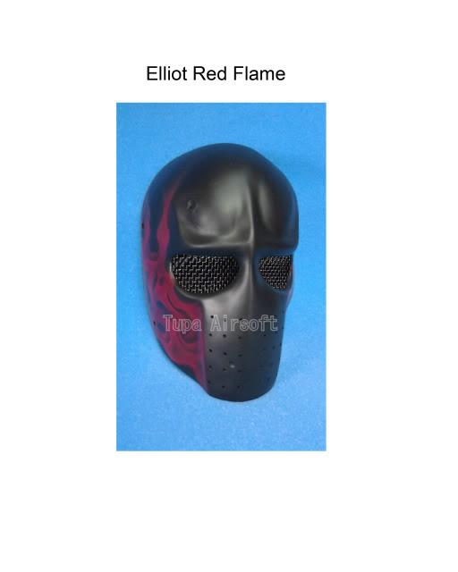 Tupa Mask ElliotRedFlame