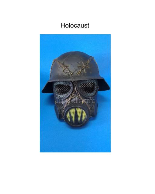 Tupa Mask Holocaust