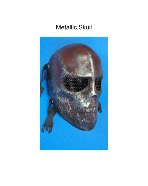 Tupa Mask MetallicSkull