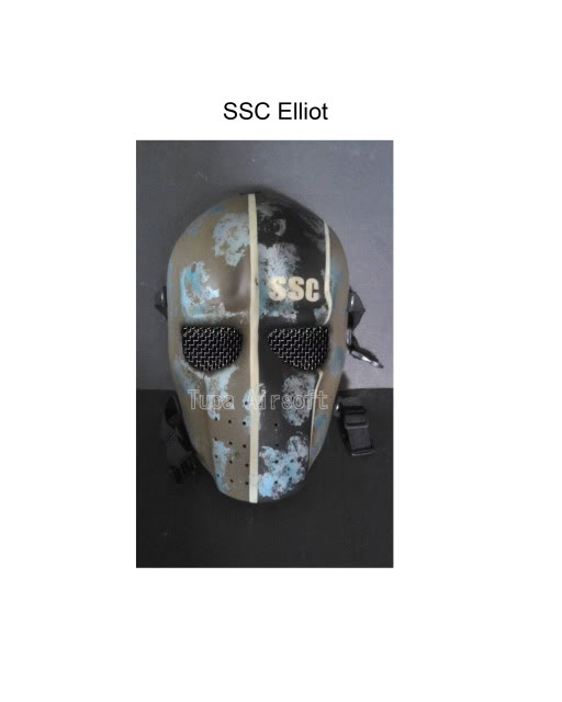 Tupa Mask SSCElliot