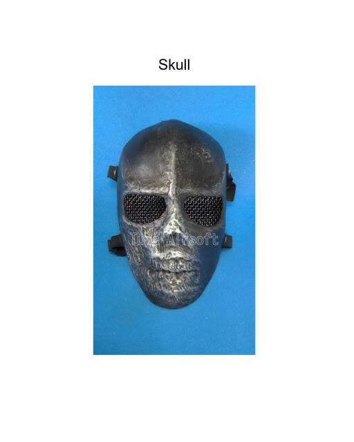 Tupa Mask Skull