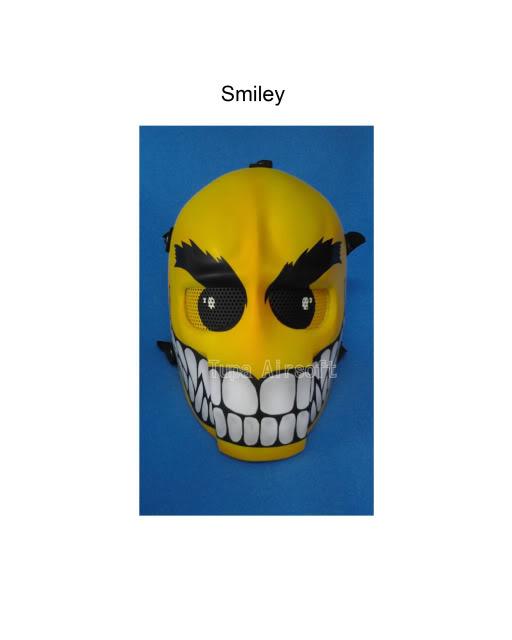Tupa Mask Smiley