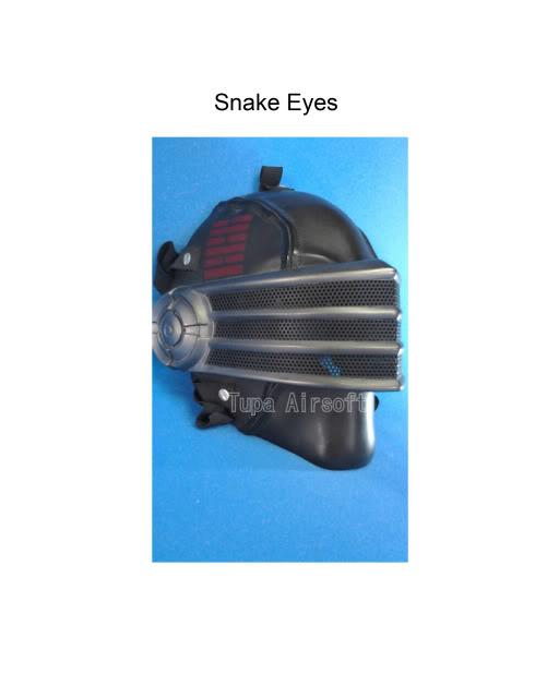 Tupa Mask SnakeEyes