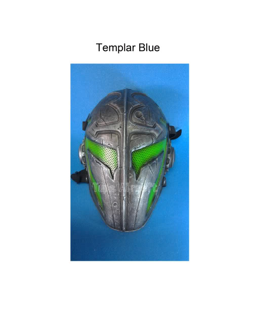 Tupa Mask TemplarBlue