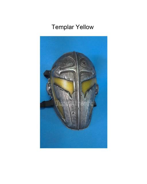 Tupa Mask TemplarYellow