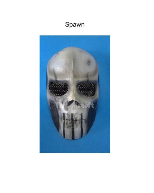 Tupa Mask Spawn
