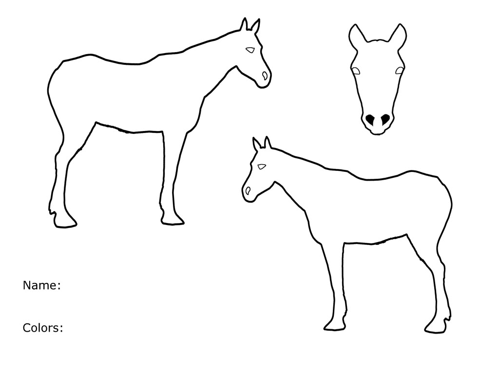 Create / Subscribe a Horse LINEART