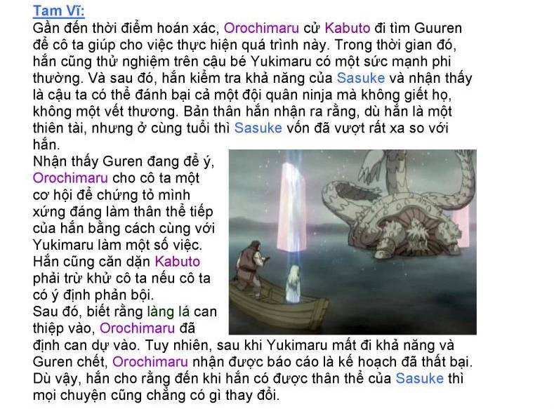 [Nhân vật] Orochimaru 16