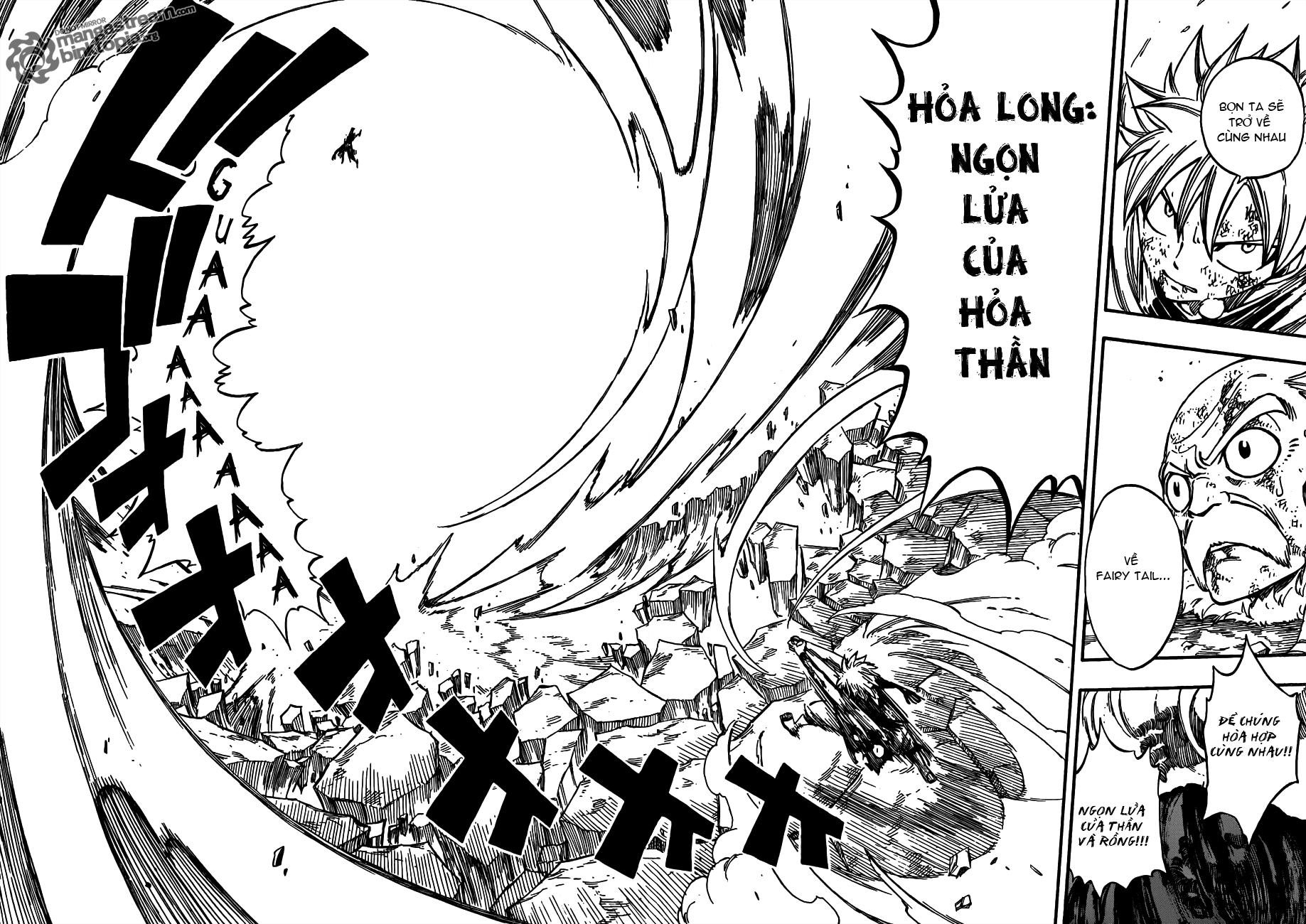 Fairy Tail Chapter 219 Tiếng Việt - Ngọn Lửa Của Hỏa Thần 18-19