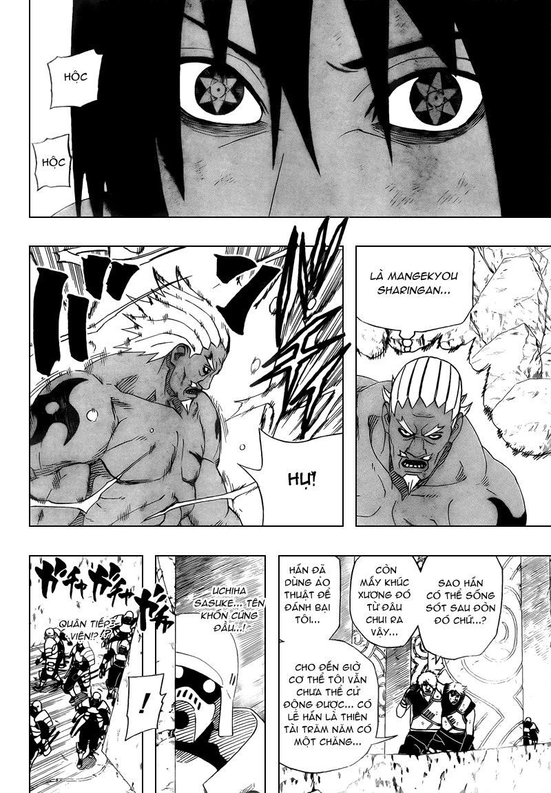 Naruto Chapter 463 Tiếng Việt - Sasuke vs. Raikage!  08
