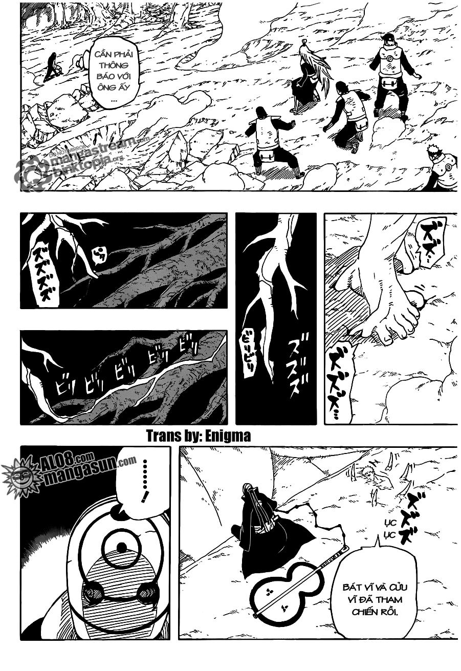 [Alo8]Naruto Chapter 536 Tiếng Việt - Naruto Tham Chiến!  13