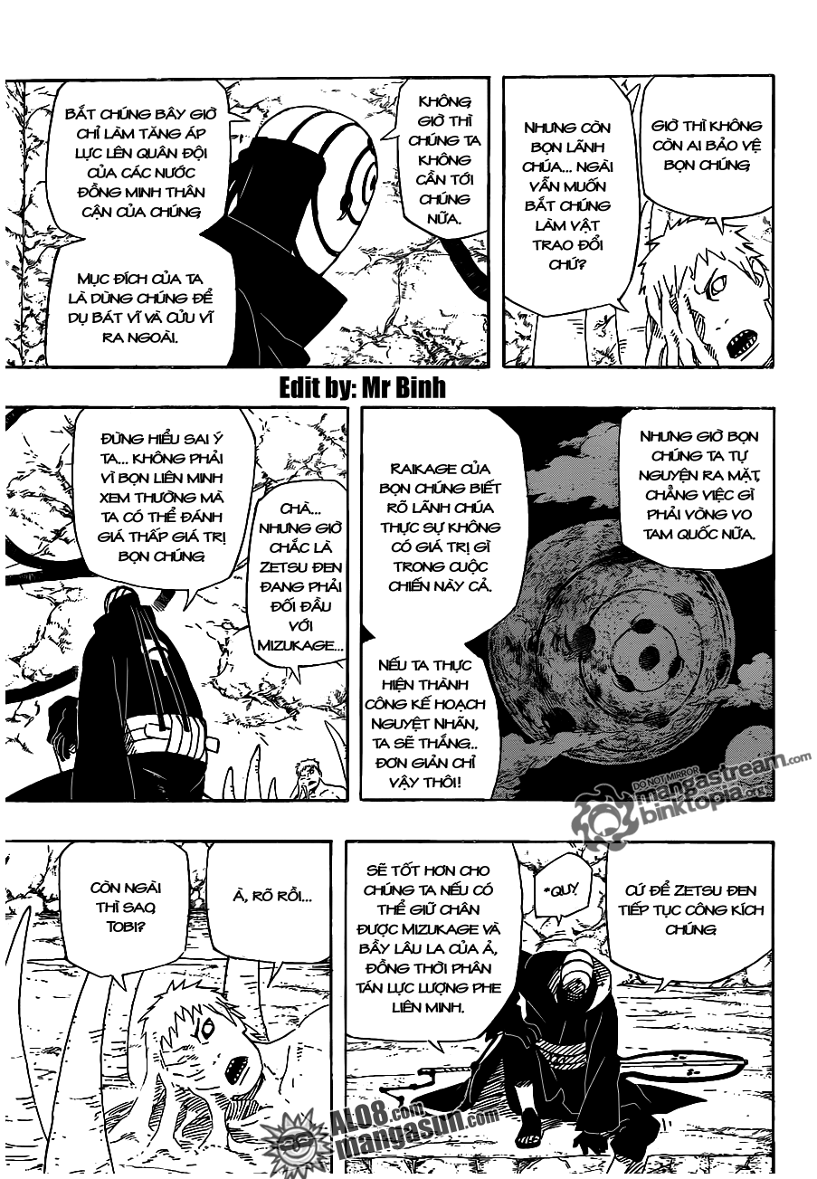 [Alo8]Naruto Chapter 536 Tiếng Việt - Naruto Tham Chiến!  14