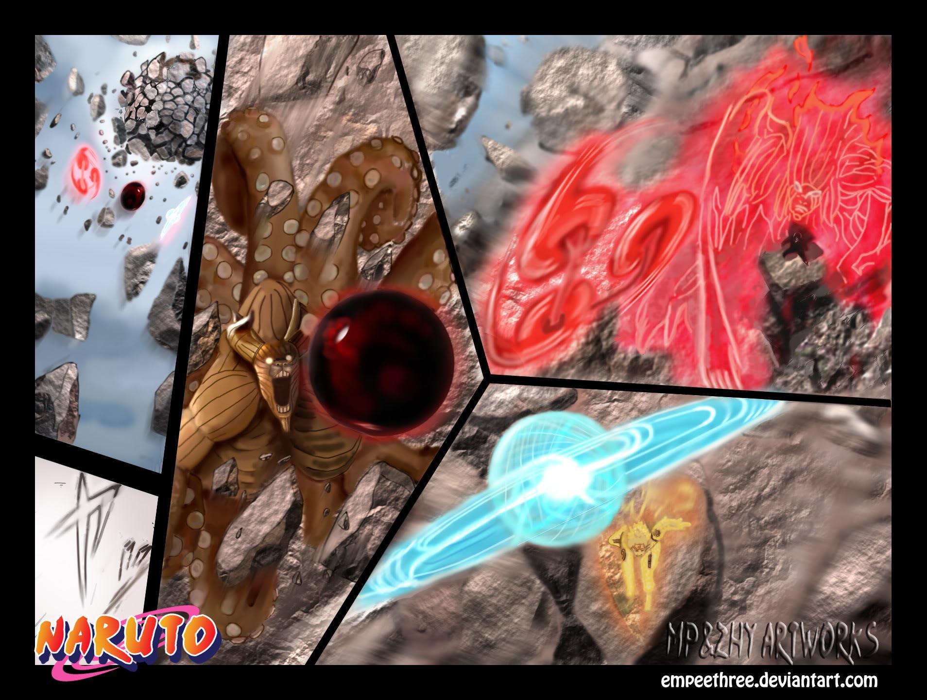 """Naruto Chapter 555 Tiếng Việt - """"Mâu Thuẫn""""! 018"""