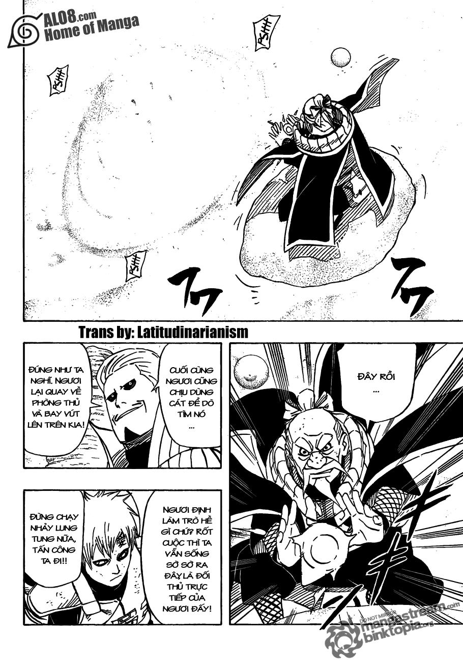 Naruto Chapter 556 Tiếng Việt - Gaara vs. Mizukage!!  005