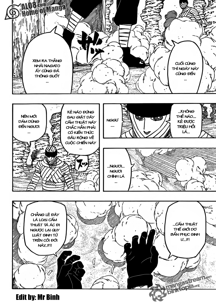 Naruto Chapter 559 Tiếng Việt - Viện Binh Xông Trận 002