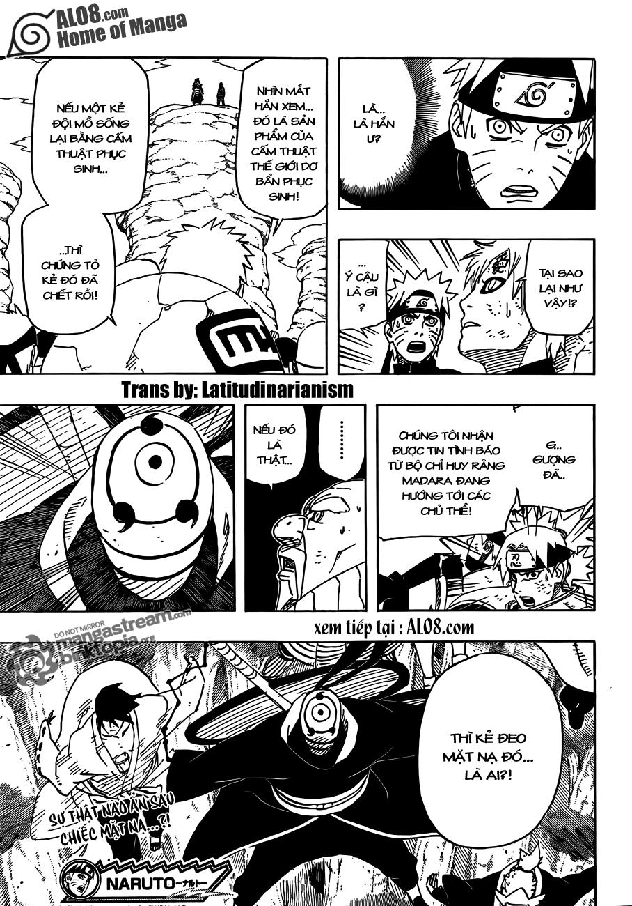 Naruto Chapter 559 Tiếng Việt - Viện Binh Xông Trận 016