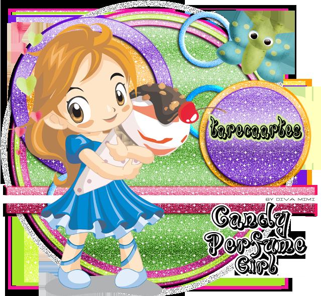 ratones con molde (de la Web) Candy-perfume-girlTARECAARTES