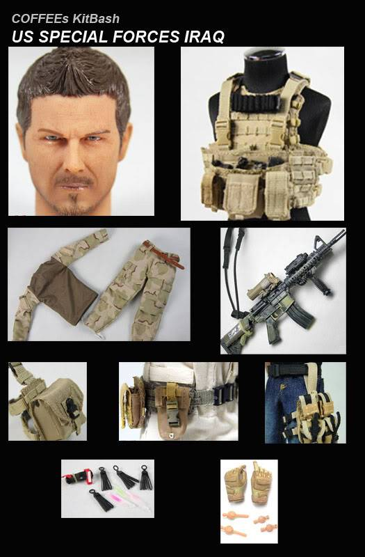 COFFEE's 12 inch Military Action figures KITBASH3