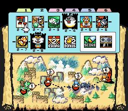 Here are some screenshots of my new level 2-8. SuperMarioWorld2-YoshisIslandUV1-1