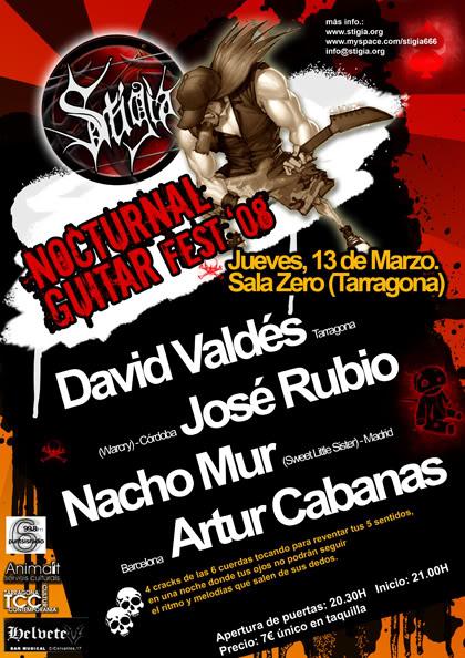 STIGIA: NOCTURNAL GUITAR FEST 2008 Tarragona GHcartelwebfinal