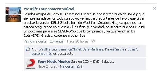 Sony Music confirma Greatest Hits en México Cats-8