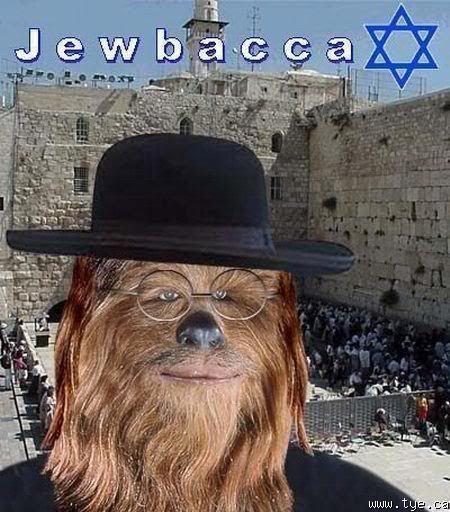 Jewbacca! roflz Jewbacca