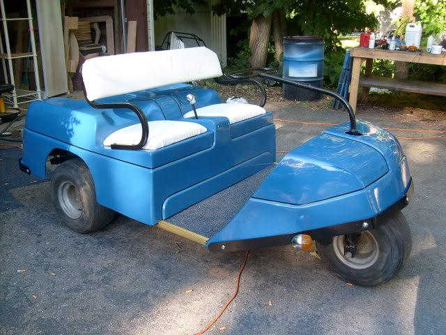 60's Era Golf Cart 038-3