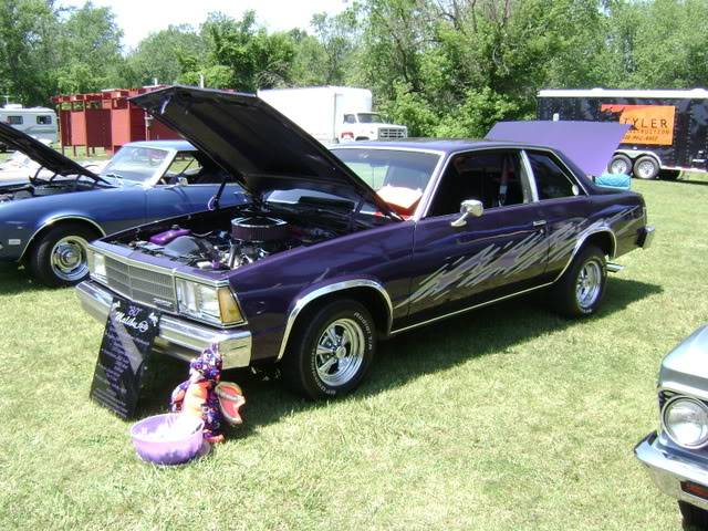 Pictures from a recent car show. DSC00272