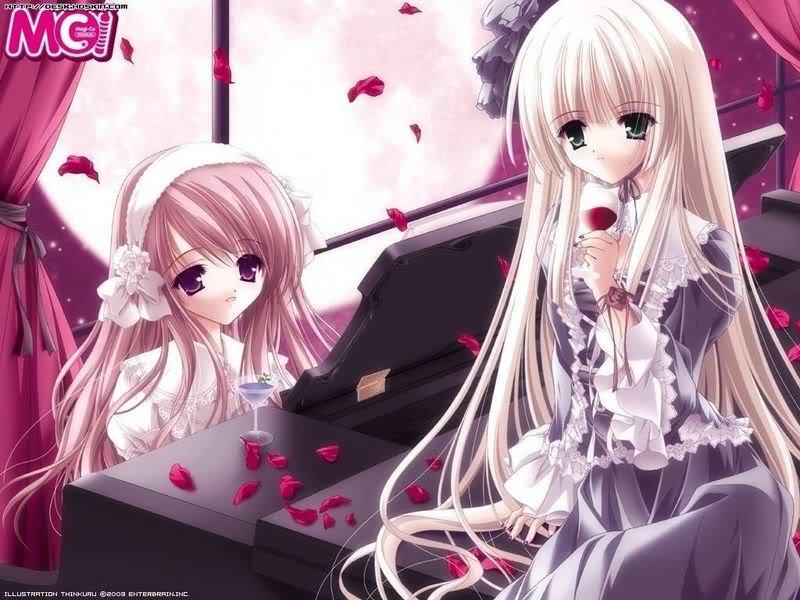 صور بنات انمى تعوف ع البيانوو رووووعه AnimePianoGirls