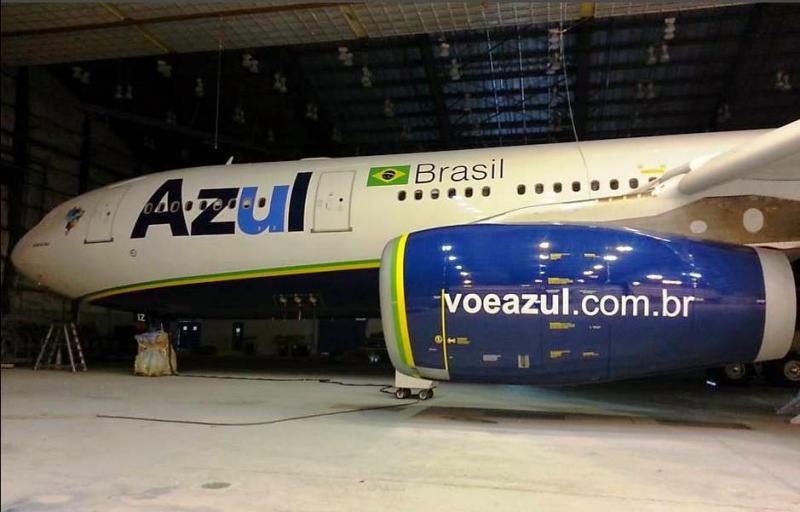 Azul A330  Brazilian Flag  AzulA330-200_zpsa49da336