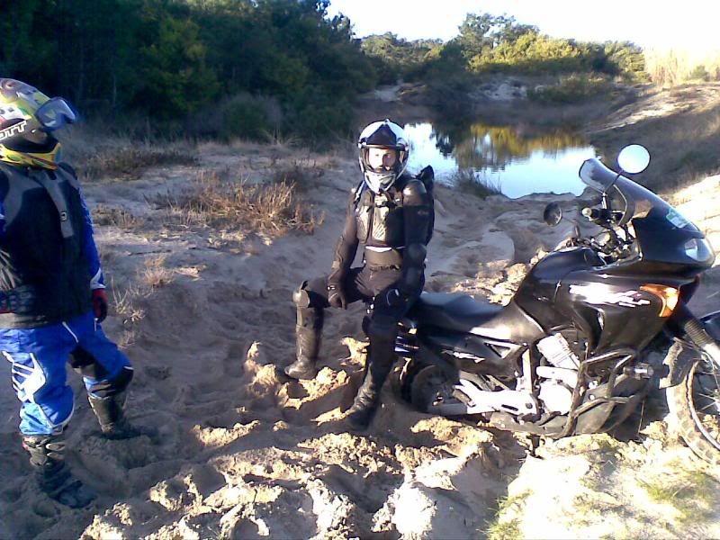 Pelas areias de Transalp 07022009034