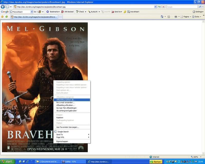 5 DVD's op 1 DVDschijf met menu 10-1