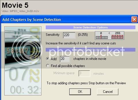 5 DVD's op 1 DVDschijf met menu Stap28